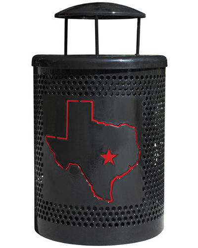 Custom Trash Receptacles