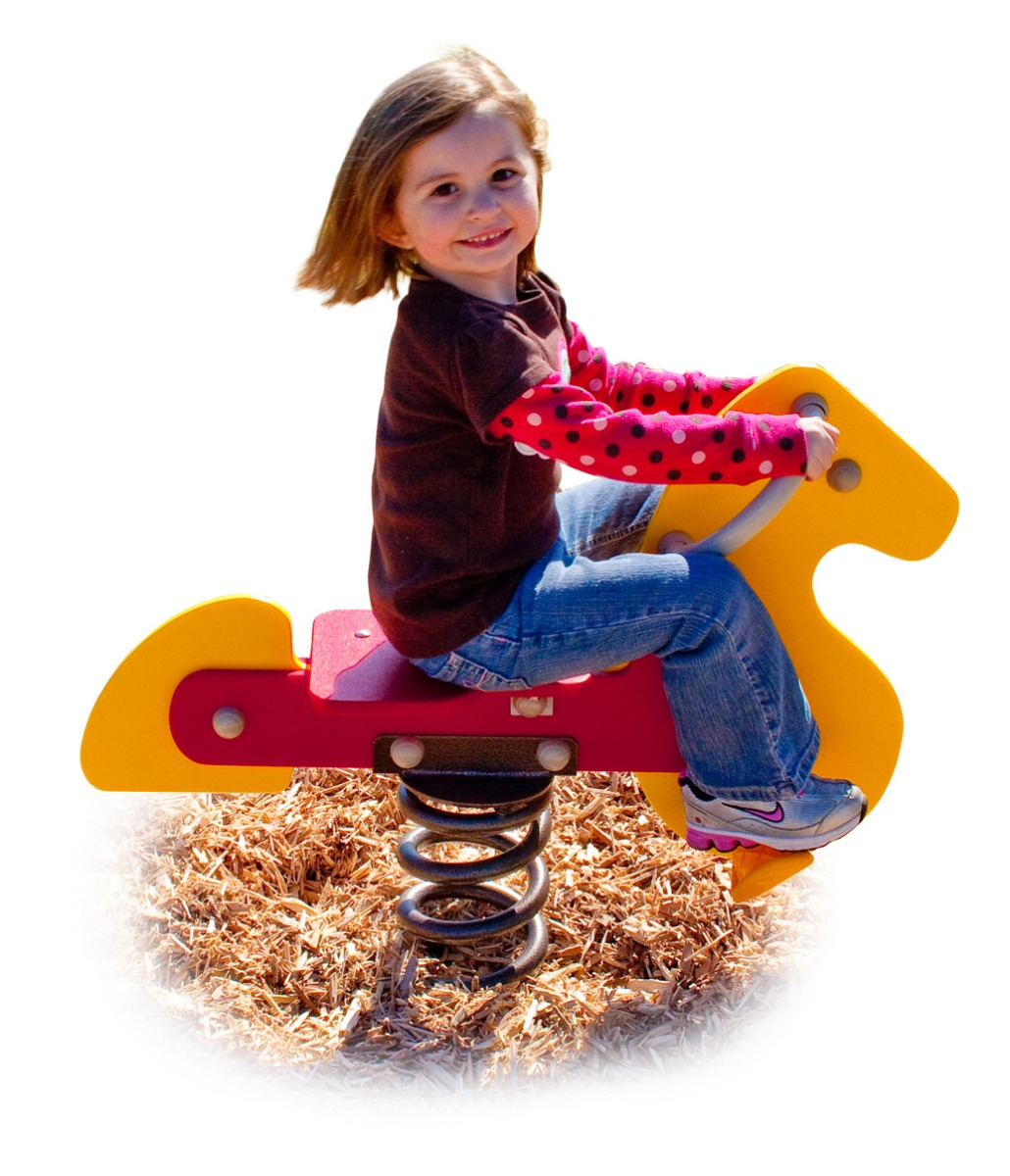 Horse Spring Rider | Commercial Playground Equipment | APCPLAY