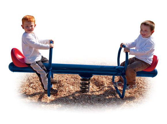 2 Rider Spring Seesaw - Spring Riders - Commercial Playground Equipment