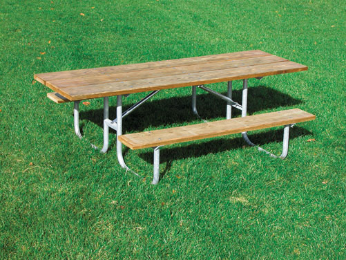 8' ADA Double Sided Heavy Duty Table