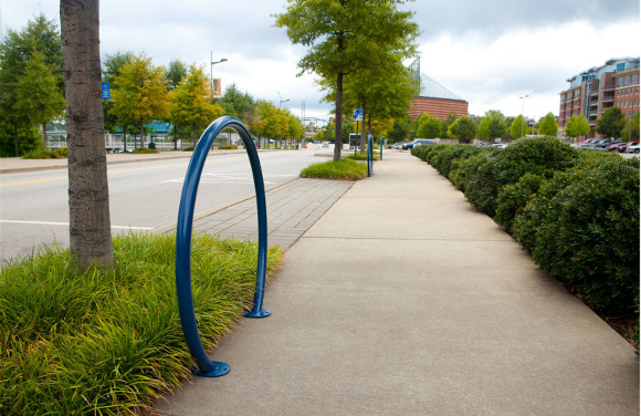 Solstice Bike Rack - Commercial Playground Equipment - Site Furnishings