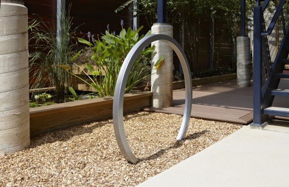 Horizons Bike Rack - Commercial Playground Equipment - Site Furnishings
