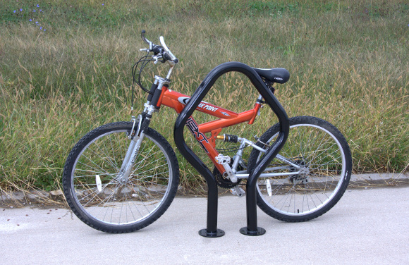 Flare Bike Rack - Commercial Playground Equipment - Site Furnishings