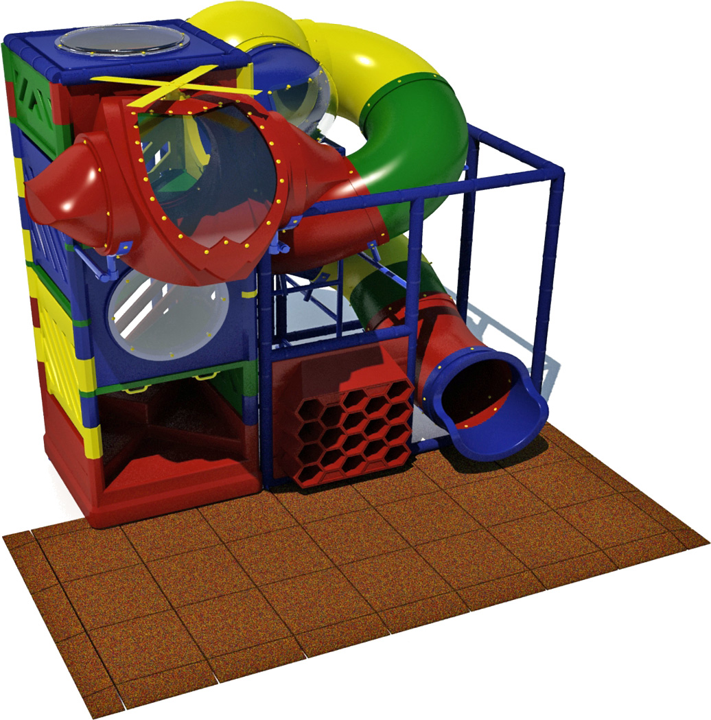 Junior 200 - Indoor Playground - American Parks Company - front