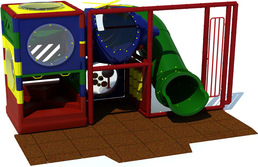 KID 700 - Indoor playground equipment - Primary - front