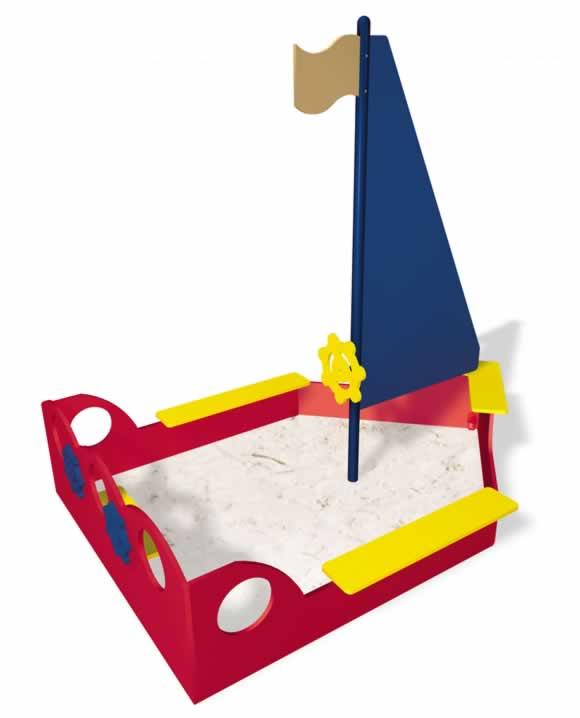 Sailboat Sand Box