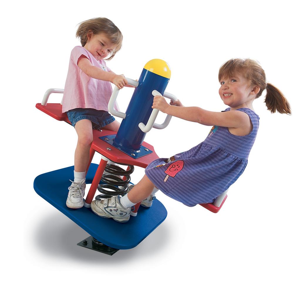 2+2 Swinger Bouncer - Commercial Playground Equipment