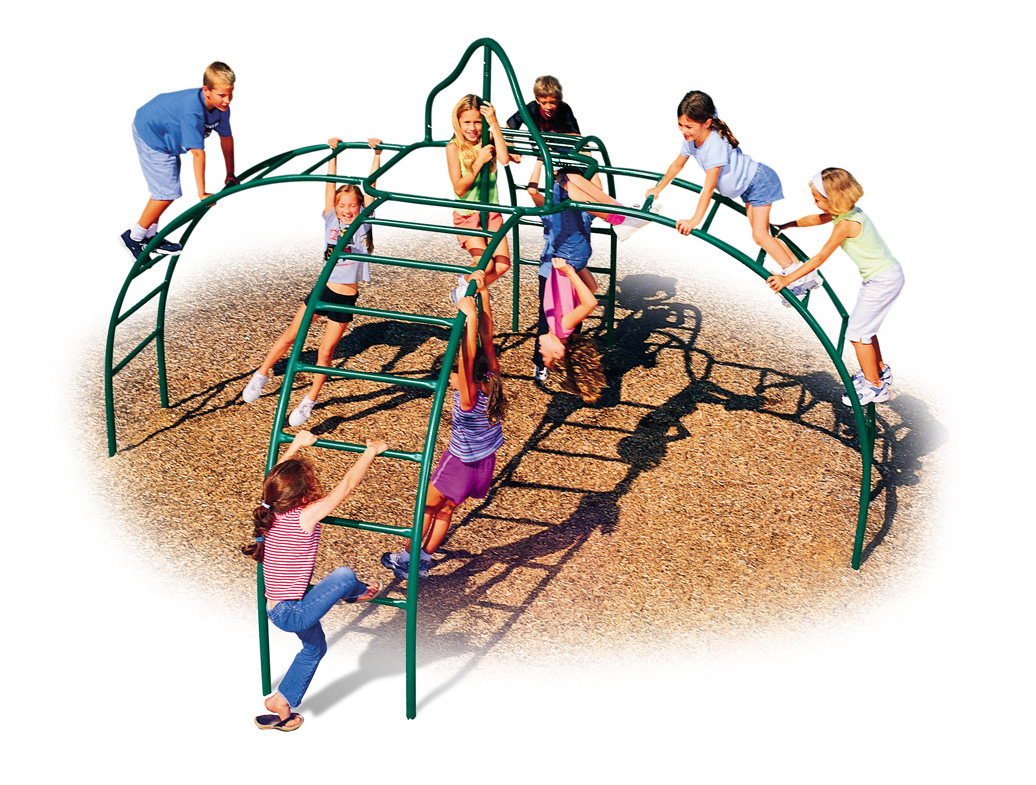 Fire Station Climber | Commercial Playground Equipment
