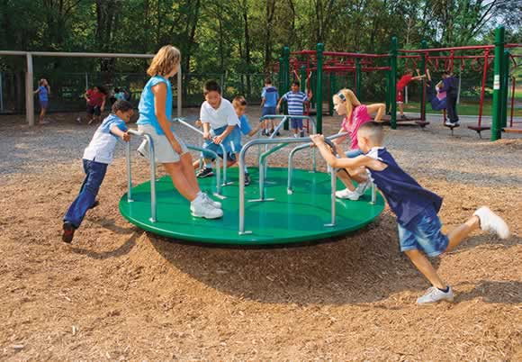 Speedy Spinner | Commercial Playground Equipment | American Parks Company
