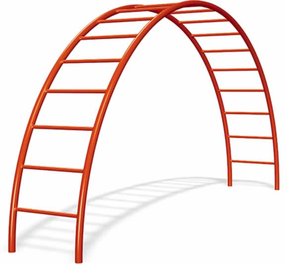 Crescent Climber | Commercial Playground Equipment | American Parks Company