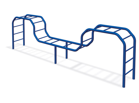 Double Camel Climber - Commercial Playground Equipment - American Parks Company