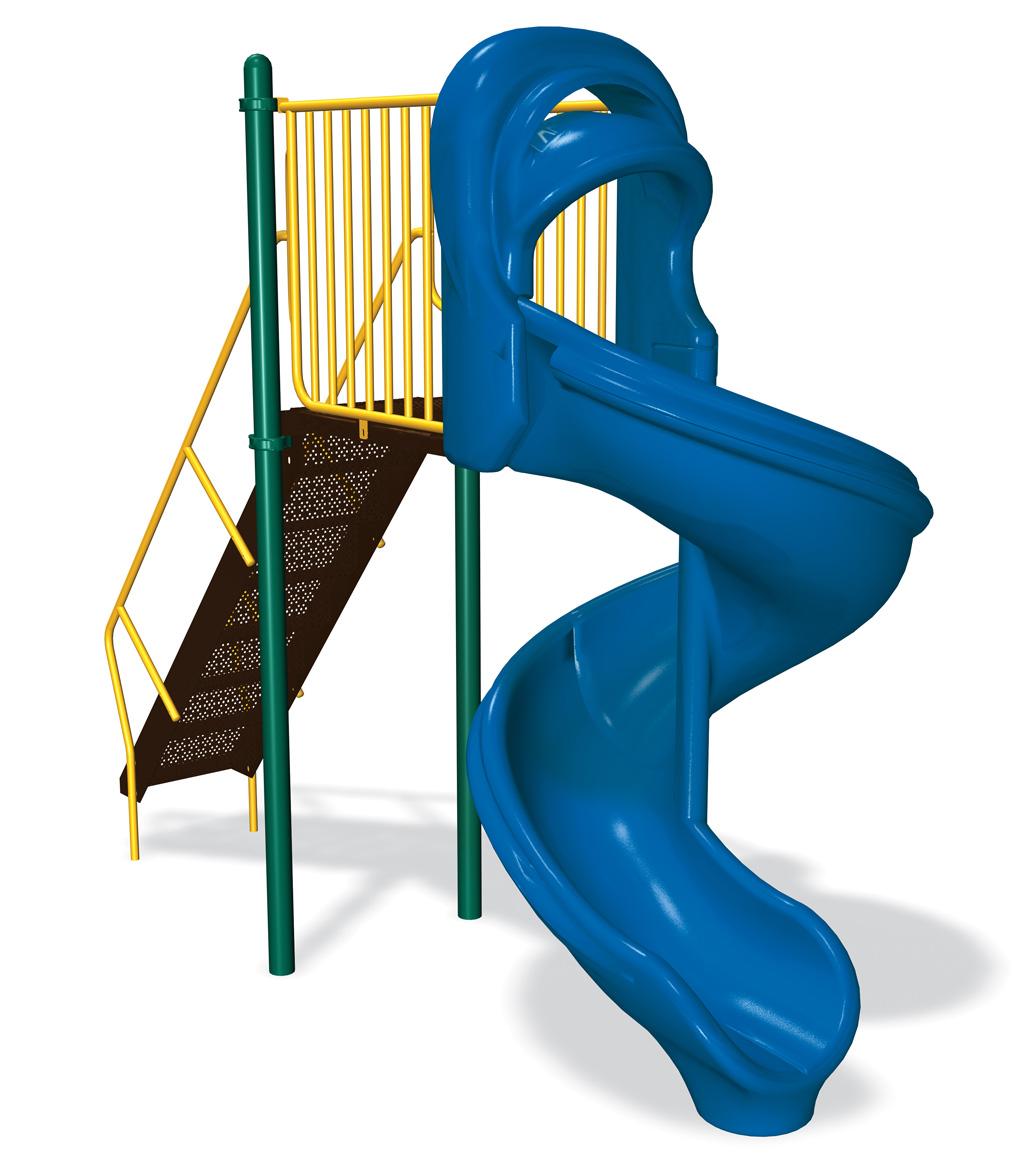 6' Hurricane Slide | Freestanding Slides | American Parks Company