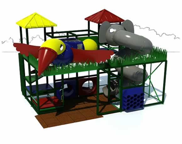 Adventure 600 - Indoor Playground - American Parks Company