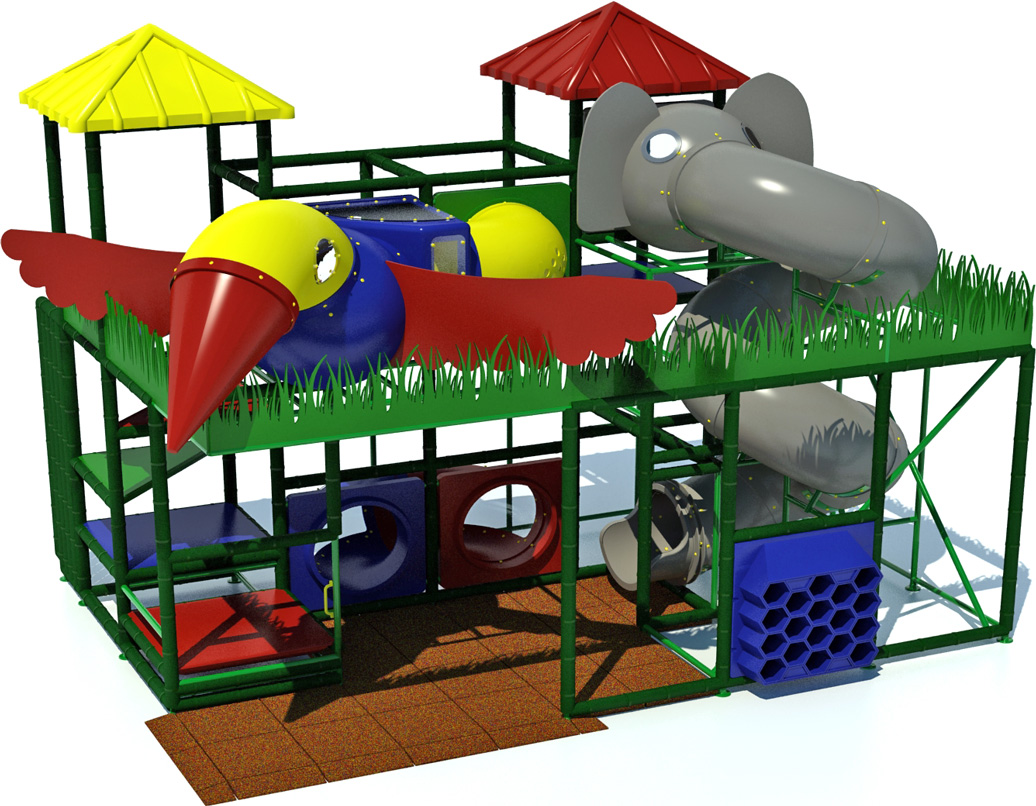 Adventure 600 - Indoor Playground - American Parks Company - primary - front