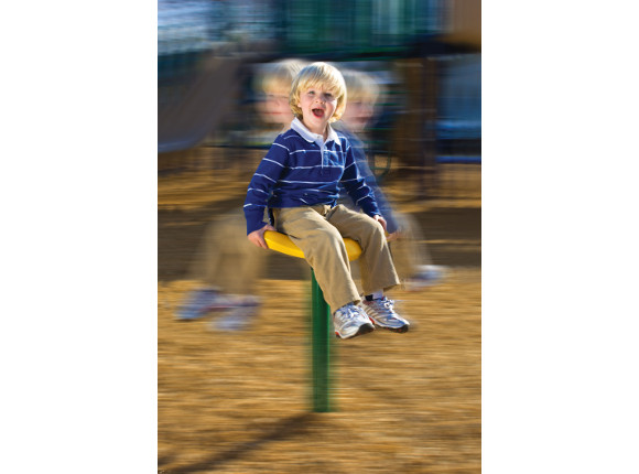Twin Spin Seat - Independent Play - Commercial Playground Equipment