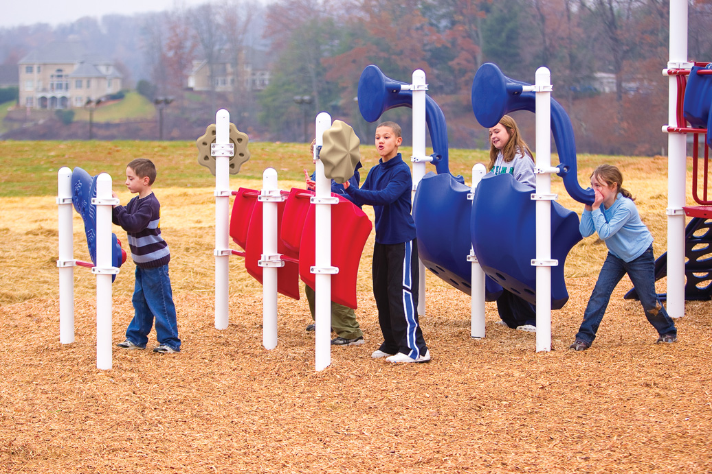 Marching Band - Musical Playground Equipment
