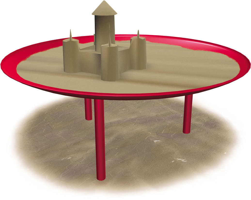 Elevated Sand Table/Planter | Commercial Playground Equipment