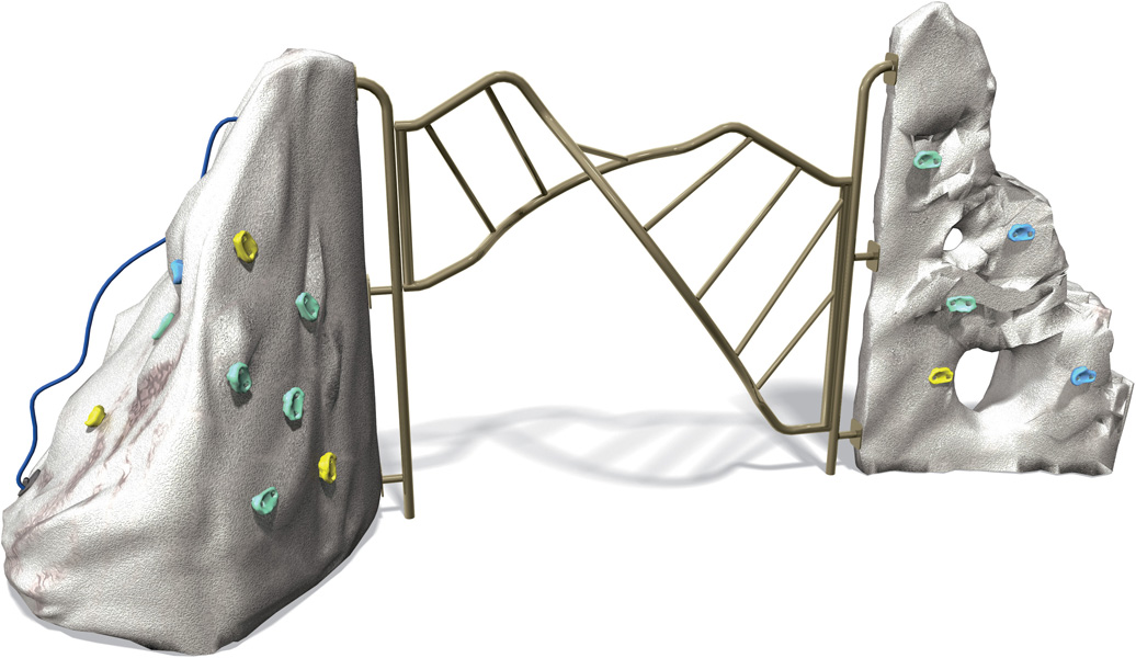 Rock Duo Climber | Commercial Playground Equipment