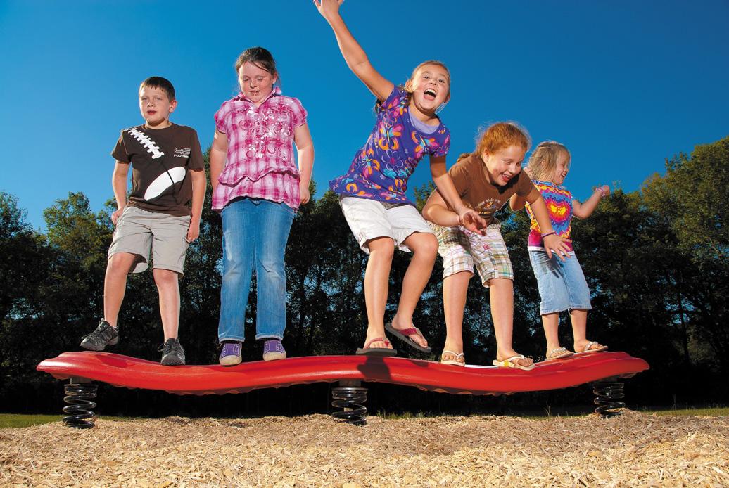 Strata Bouncing Balance Beam | Balance | American Parks Company