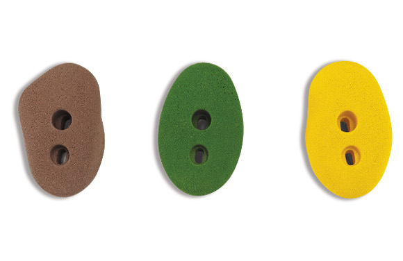 Climb & Discover Cave - Climbers - Natural Colored Plastic Grips