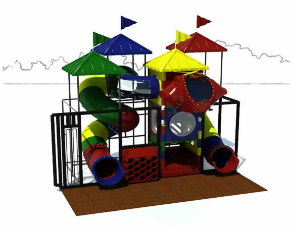 Junior 300 - Indoor Playground - American Parks Company