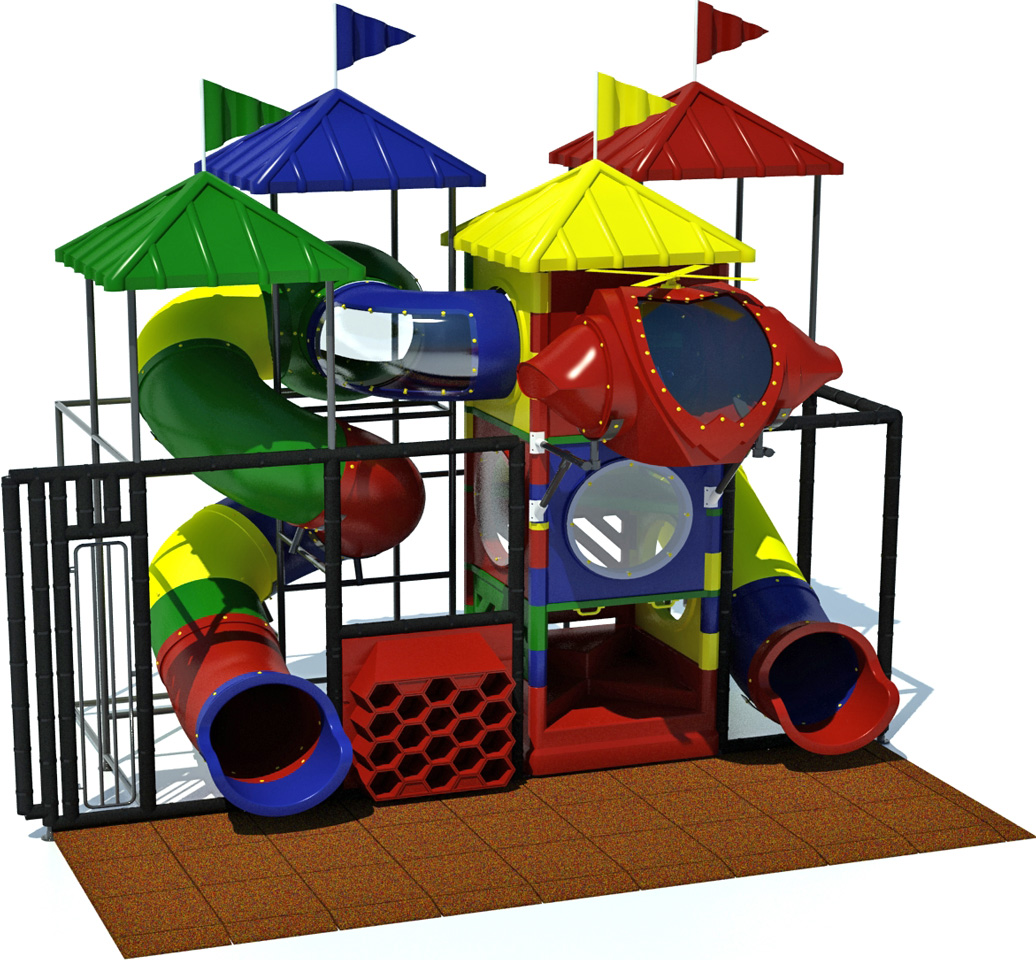 Junior 300 - Indoor Playground - American Parks Company - primary - front