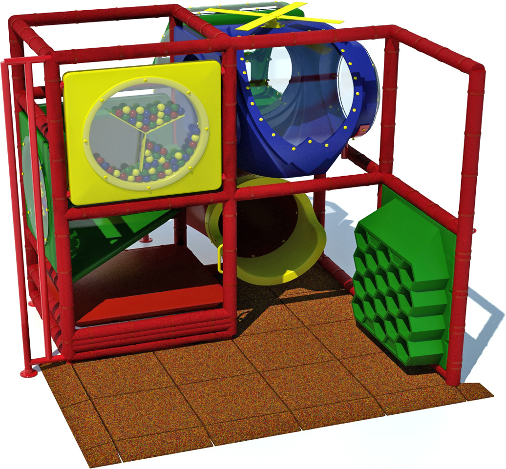 Kid 600 - Indoor Playground Equipment - American Parks Company