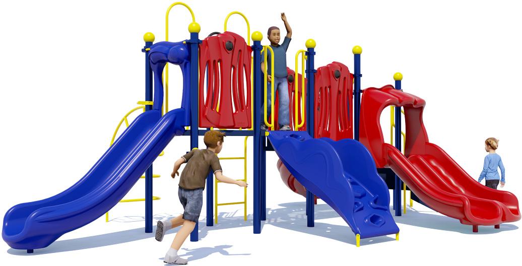 Rhyme 'n Reason Playground Equipment - Primary Color Scheme