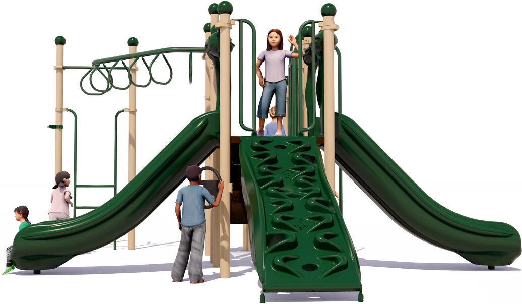 Word to the Wise | Front View | Play Structures