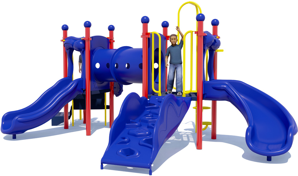 Holiday Hill commercial playground equipment