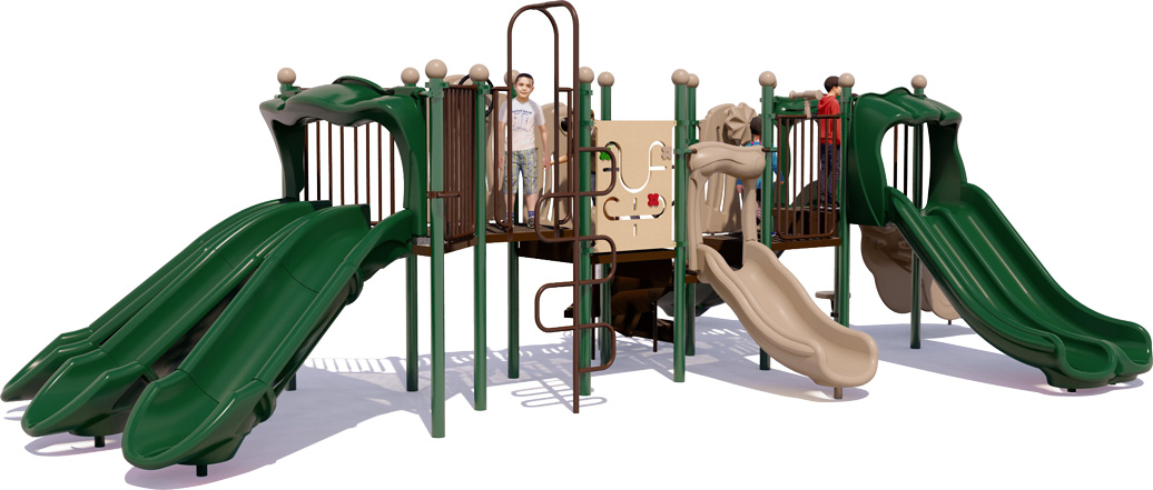 Commercial Playground Equipment - Super Slide