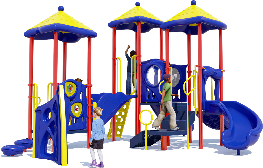 Triple Play - Playground Equipment