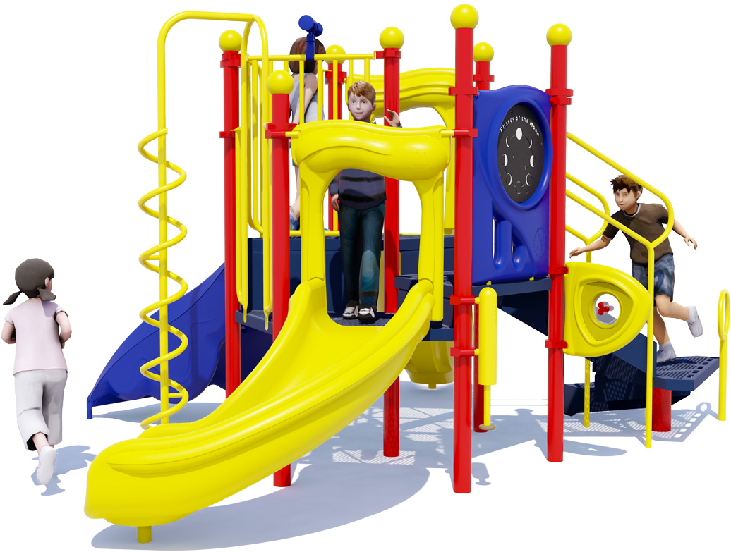 London Tower Commercial Play Structure