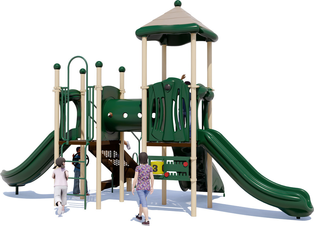 Play Date Playground - Natural Color Scheme - Front View