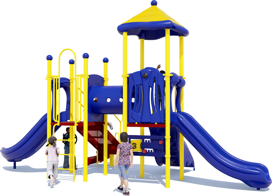 Play Date commercial playground designed for children ages 2-12