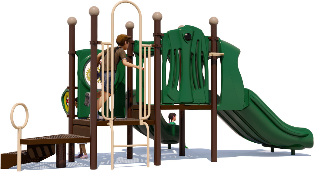Sunshine - Natural - Front - Daycare Playground Equipment