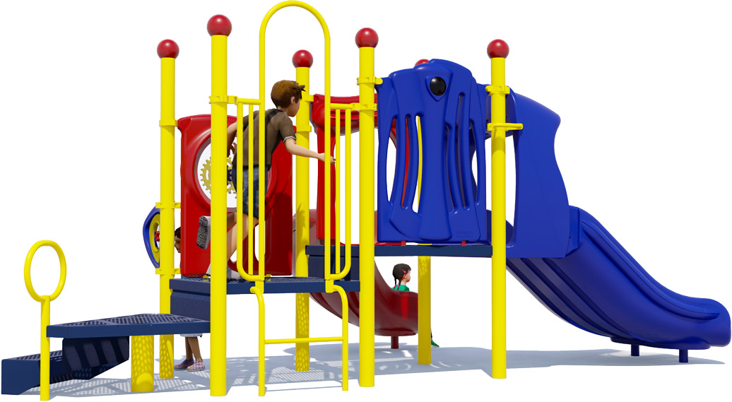 Sunshine - Primary - Rear - Daycare Playground Equipment