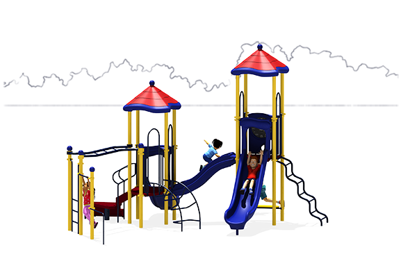 Merry Madison - Play Structure - Primary - Front
