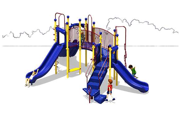 Full of Fun - Commercial Playground Equipment - Primary - Back