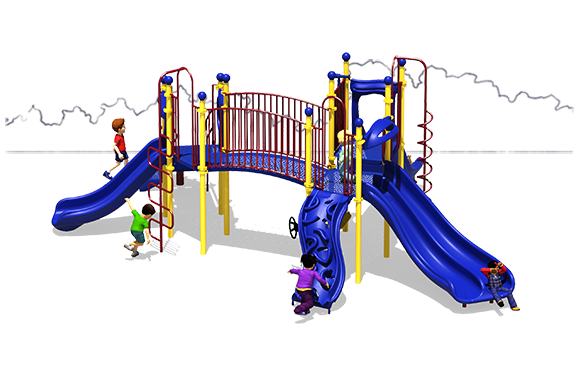 Full of Fun - Commercial Playground Equipment - Primary - Front