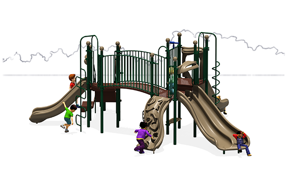 Full of Fun - Commercial Playground Equipment - Natural - Front