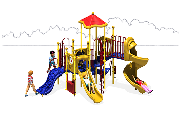 Crank It Up - Commercial Playground Equipment - Primary - Front