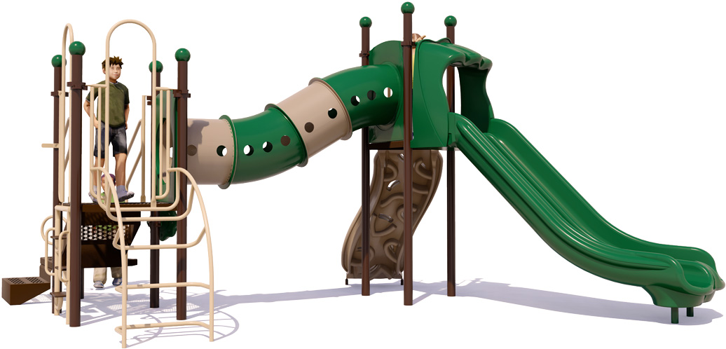 Dandy Dragon - Front View - Natural Colors - Commercial Playground Equipment