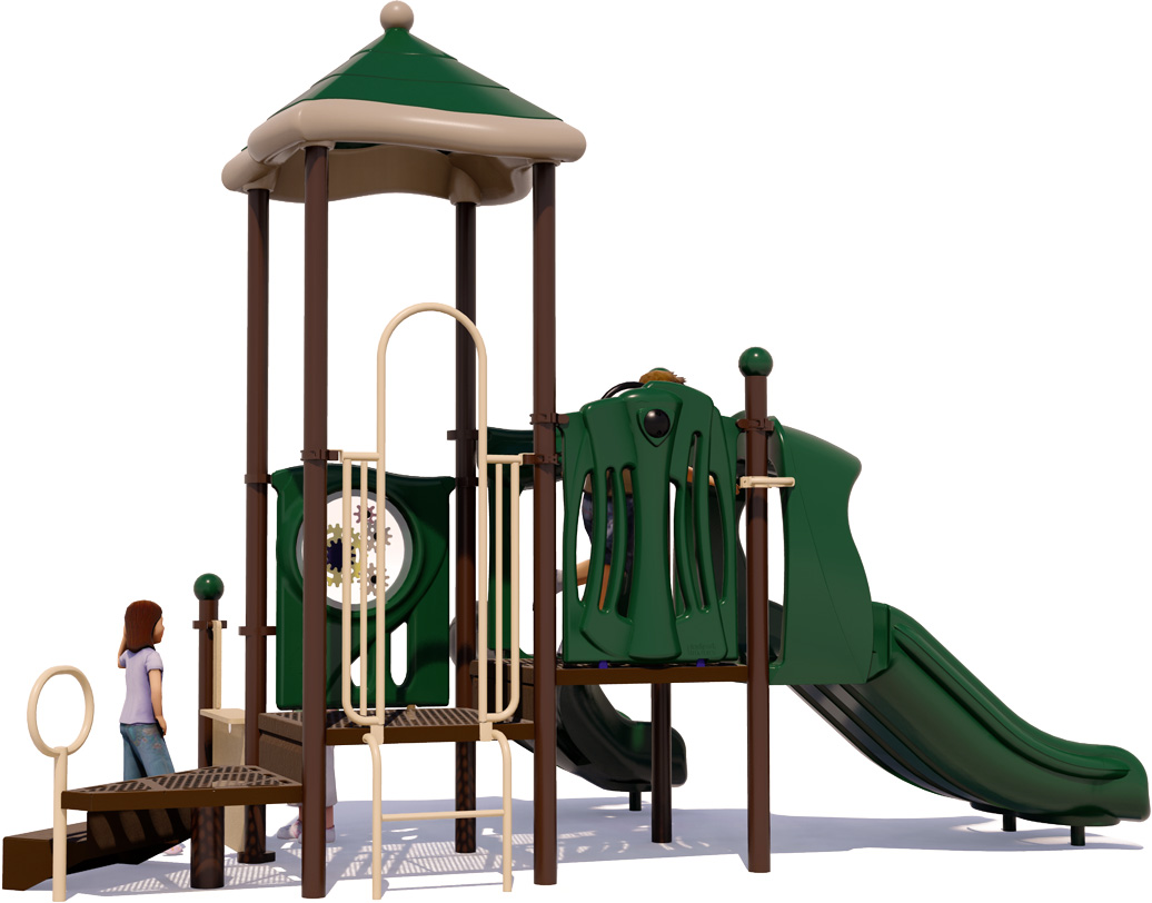 Busy Bee | Back View | Commercial Play Structure