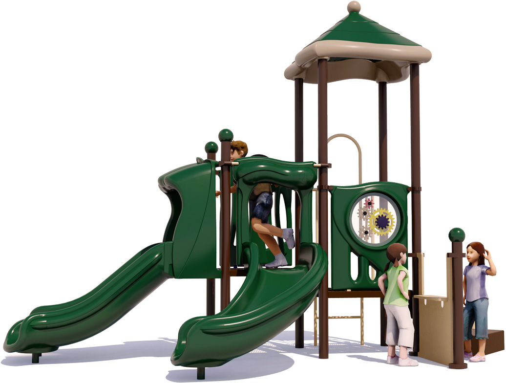 Busy Bee | Front View | Commercial Play Structure