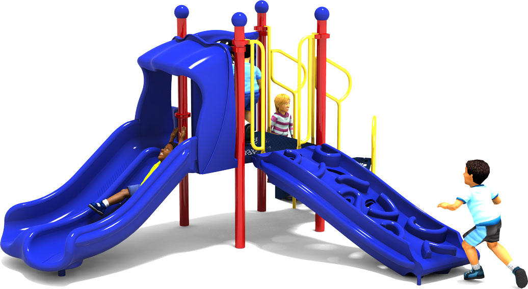 Getting Good Playground Equipment - Primary Color Scheme