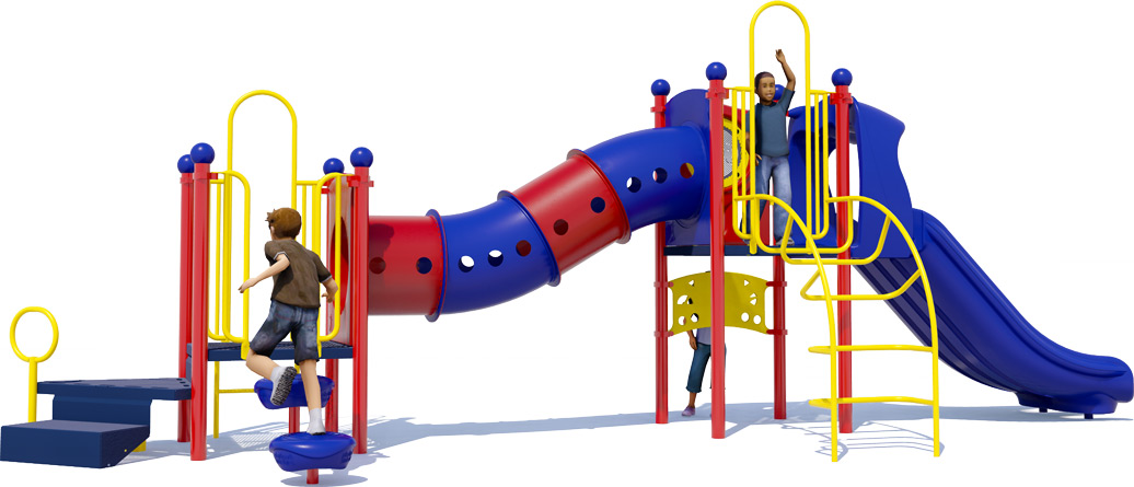 Total Tunny Playground Structure - Primary - Back