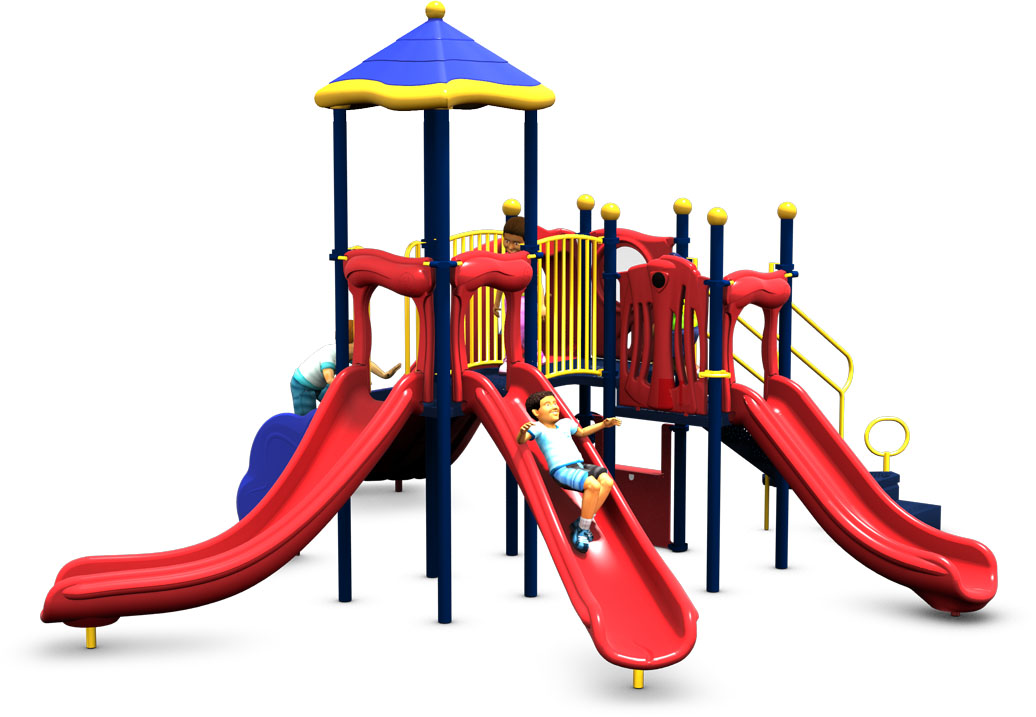 Magic Mountain - Commercial Playground Equipment - American Parks Company - Front