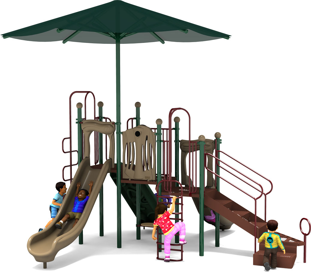 Captain Cool - Commercial Playground Equipment - Natural - Back