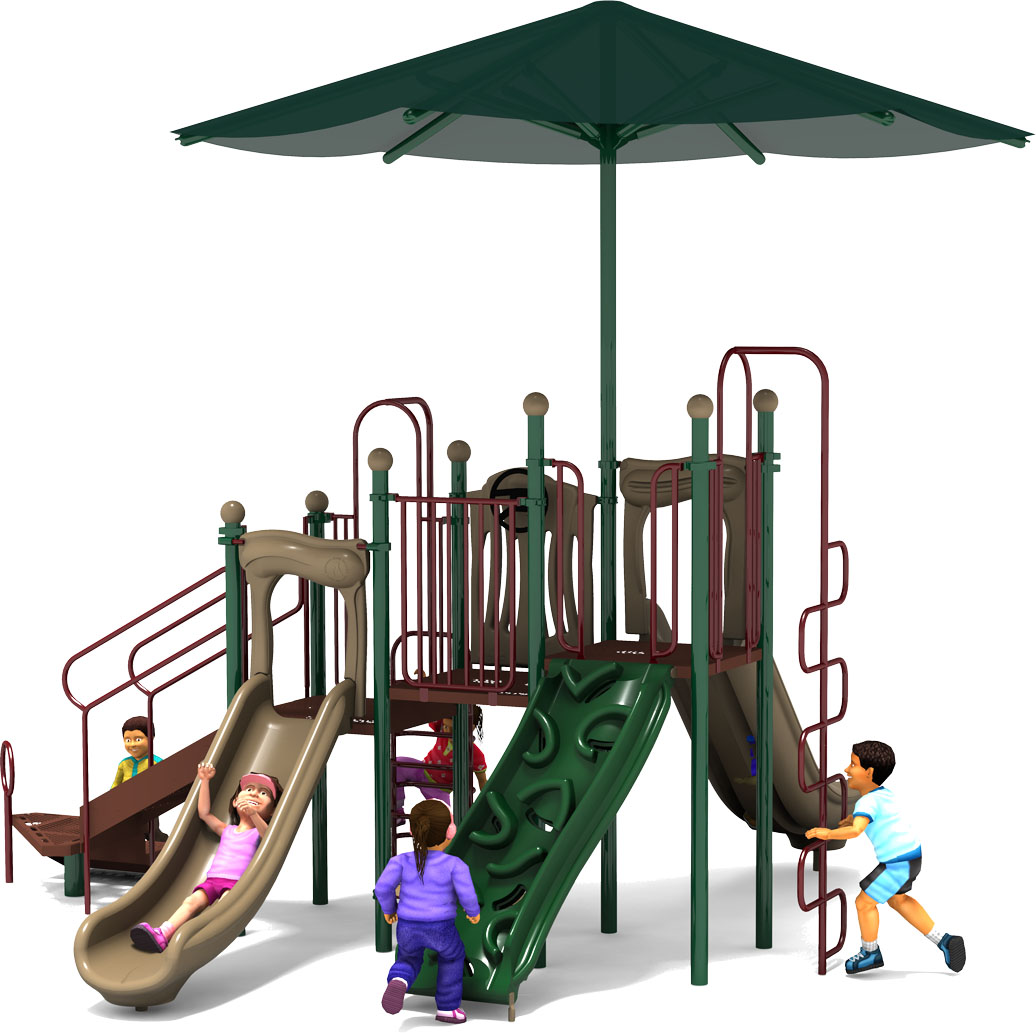 Captain Cool - Commercial Playground Equipment - Natural - Front